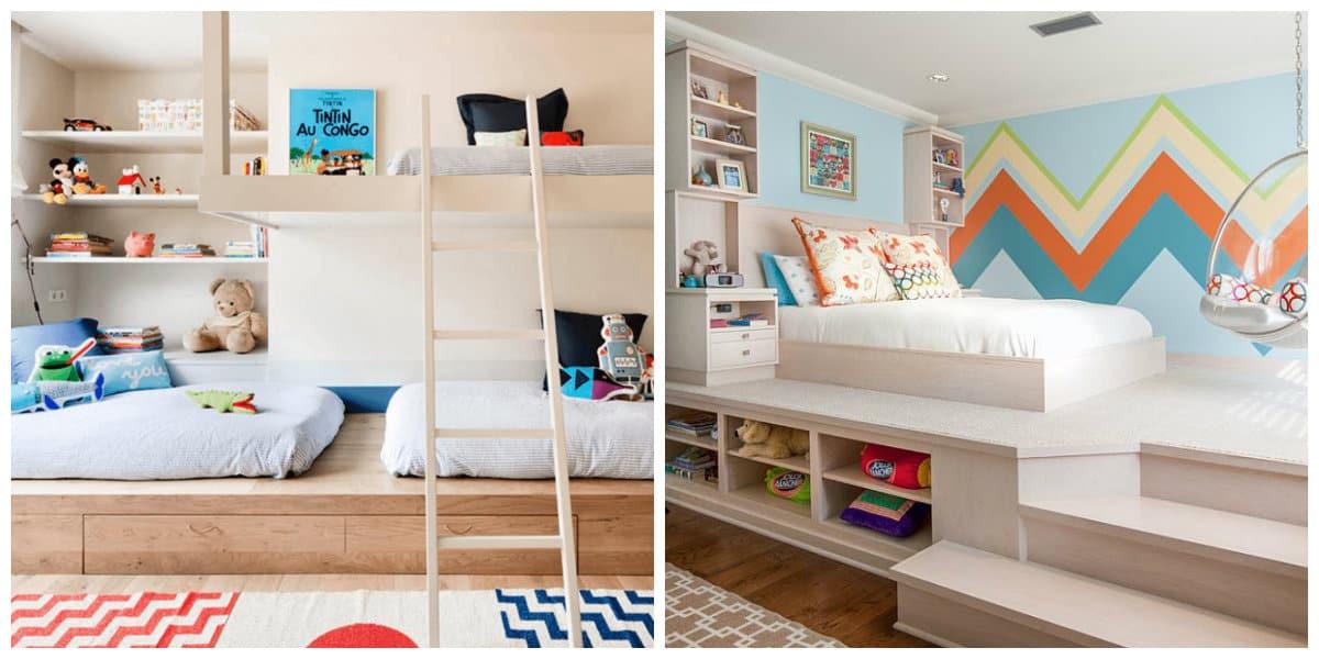 Habitaciones infantiles 2018- con alfombras dibujados