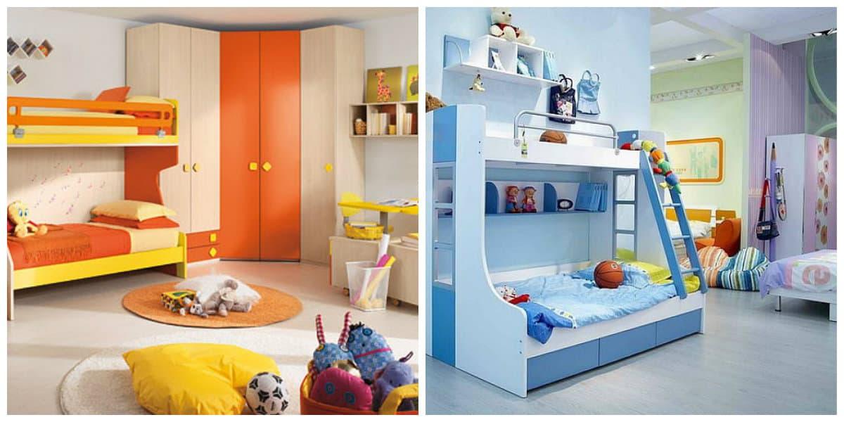 Habitaciones infantiles 2018- soluciones elegantes y practicas