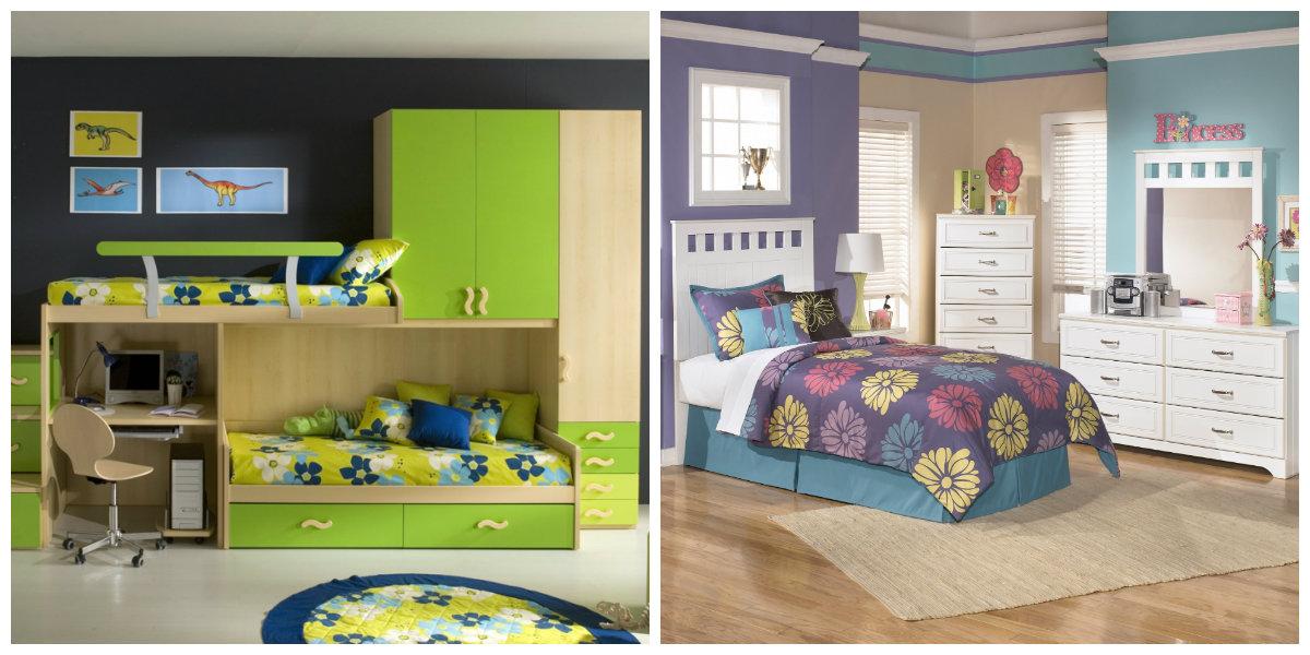 Habitaciones infantiles 2018- paredes en tonos pasteles