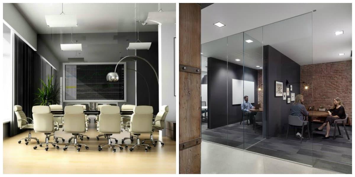 Oficinas 2018- decoracion con metal no sale de la moda del diseno interior de oficinas