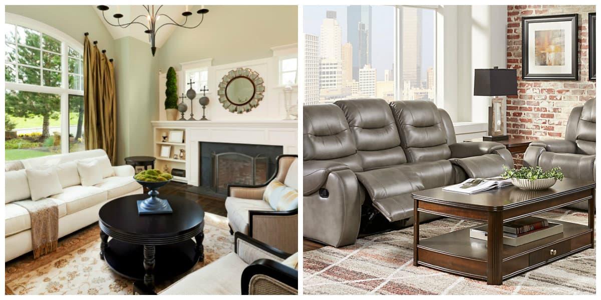 Sala de estar 2020- variedades de materiales de moda para el salon