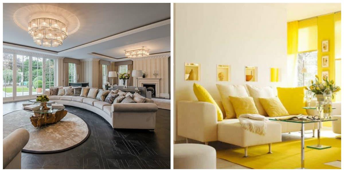 Sala de estar 2020- disenos elegantes y muy de moda por los estilistas