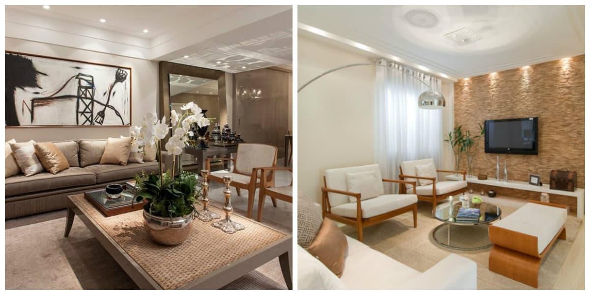 Sala de estar 2020- detalles elegantes para agregar este ano