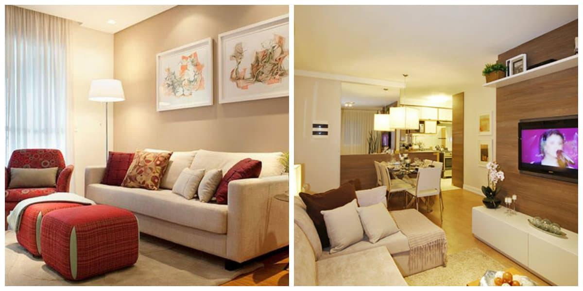 Sala de estar 2020- diferentes tonalidades estan en tendencia