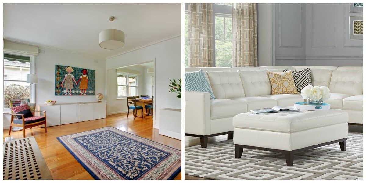 Sala de estar 2020- madera natural aplicada para los muebles