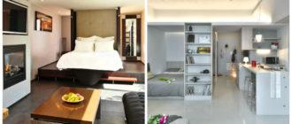 Apartamento estudio- estanterias para sus libros favoritos