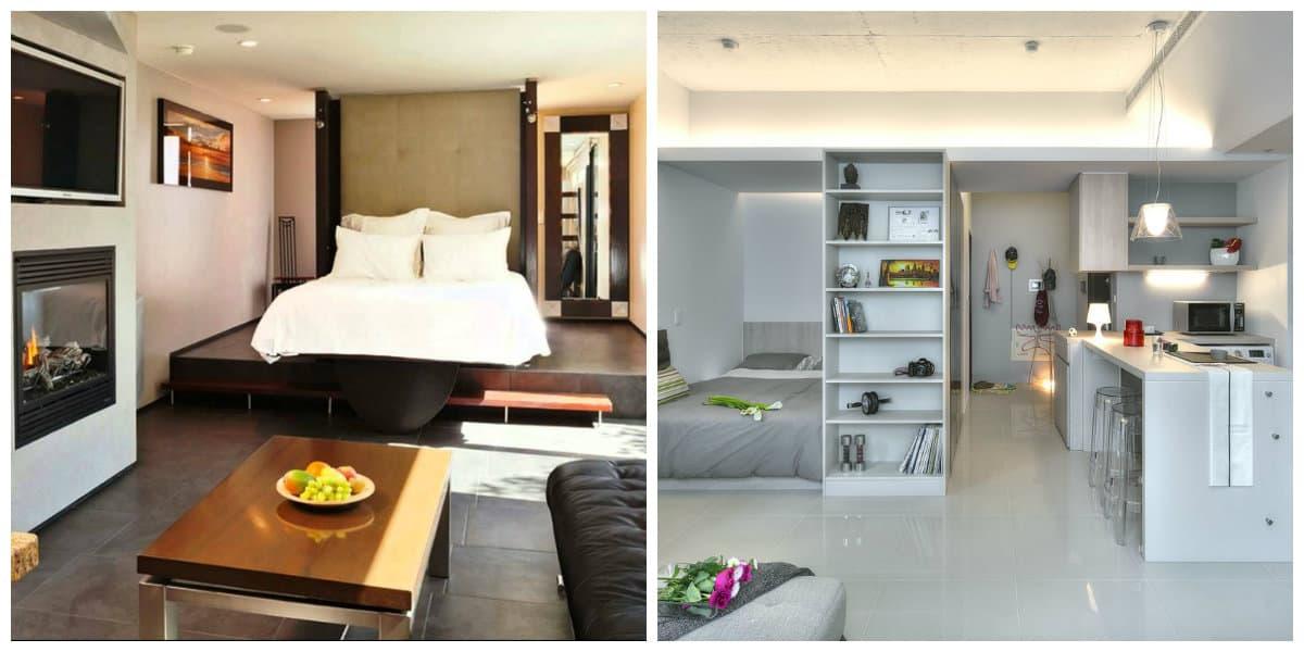 Apartamento estudio: Interior y diseño del apartamento estudio