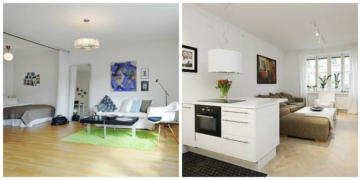 Apartamentos peque os dise o e interior del apartamento for Muebles para apartamentos pequenos