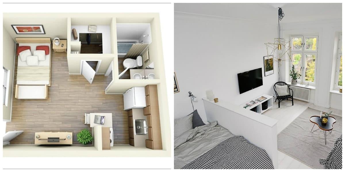 Apartamentos pequeños-colocacion de los muebles de tu casa