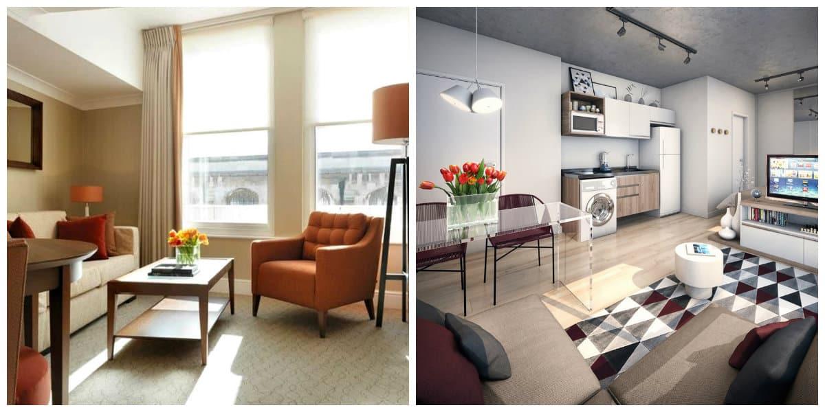 Apartamentos peque os dise o e interior del apartamento for Salas para departamentos pequenos