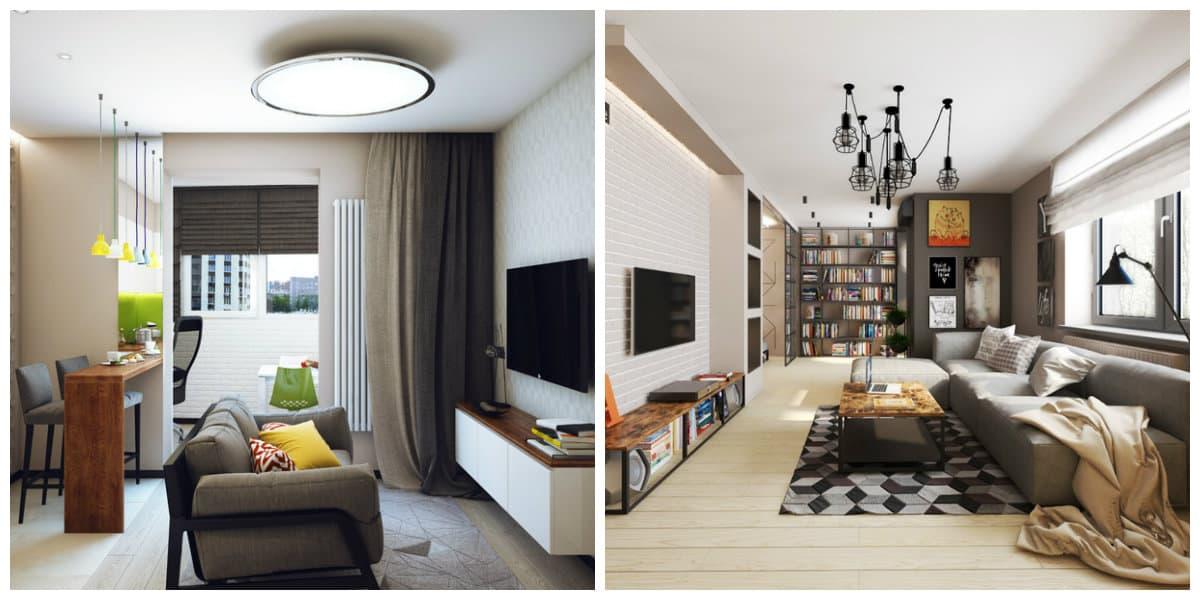 Apartamentos pequeños- ahorro de espacio para otras cosas