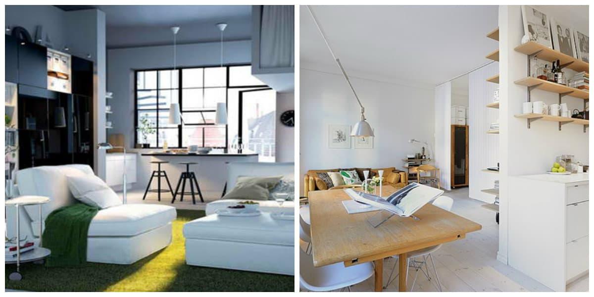 Apartamentos pequeños- sofa-cama es una solucion perfecta