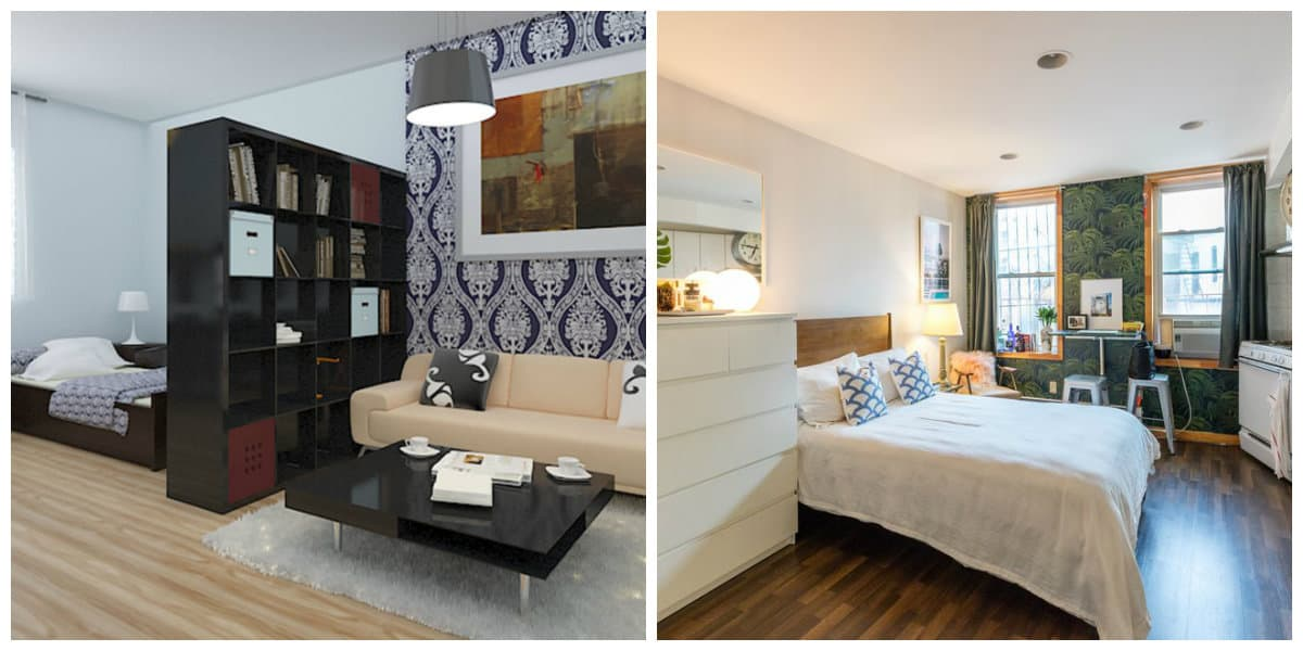 Apartamentos pequeños- sirve como sala de estar y dormitorio
