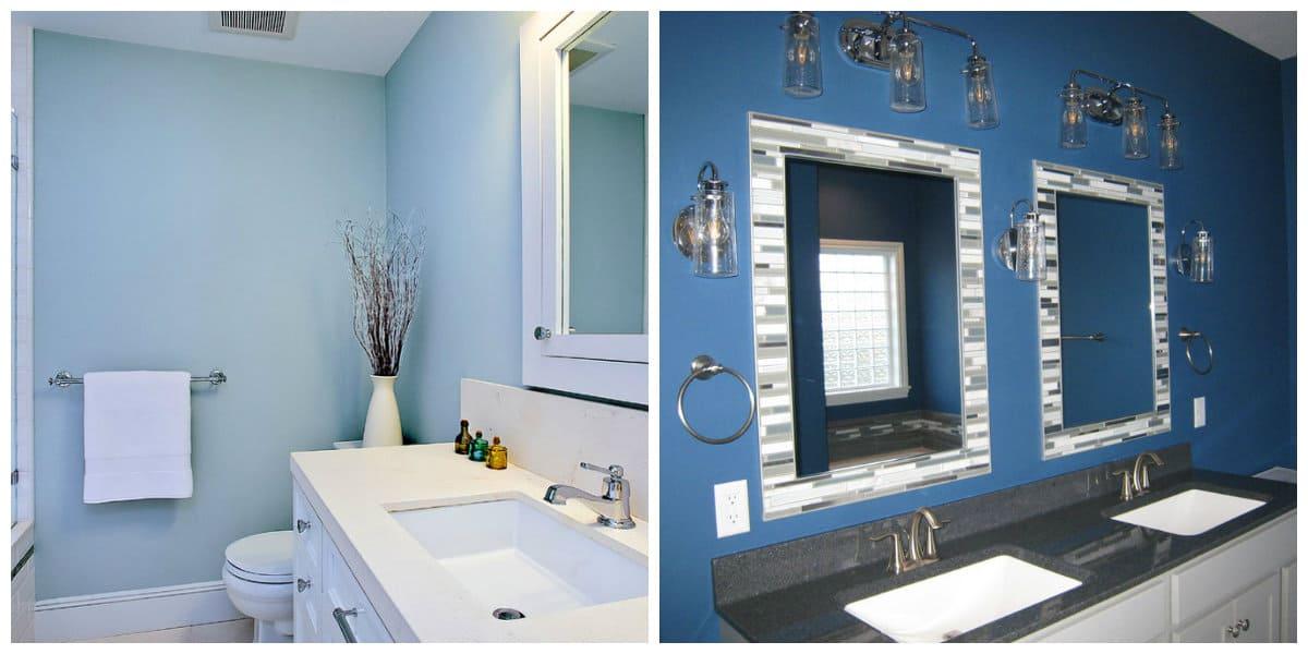 El Bano Azul.Banos Azules Interior De Bano De Moda 2020 De Color Azul