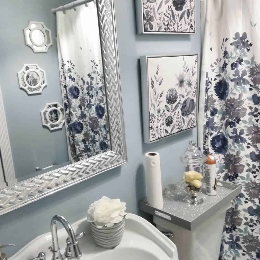 fascinating bathroom color trends 2020 | Baños Azules: Interior De Baño De Moda 2020 De Color Azul ...