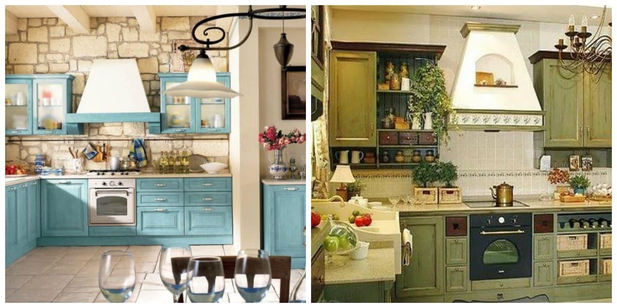 cocina provenzal dise o interior de la cocina con encanto
