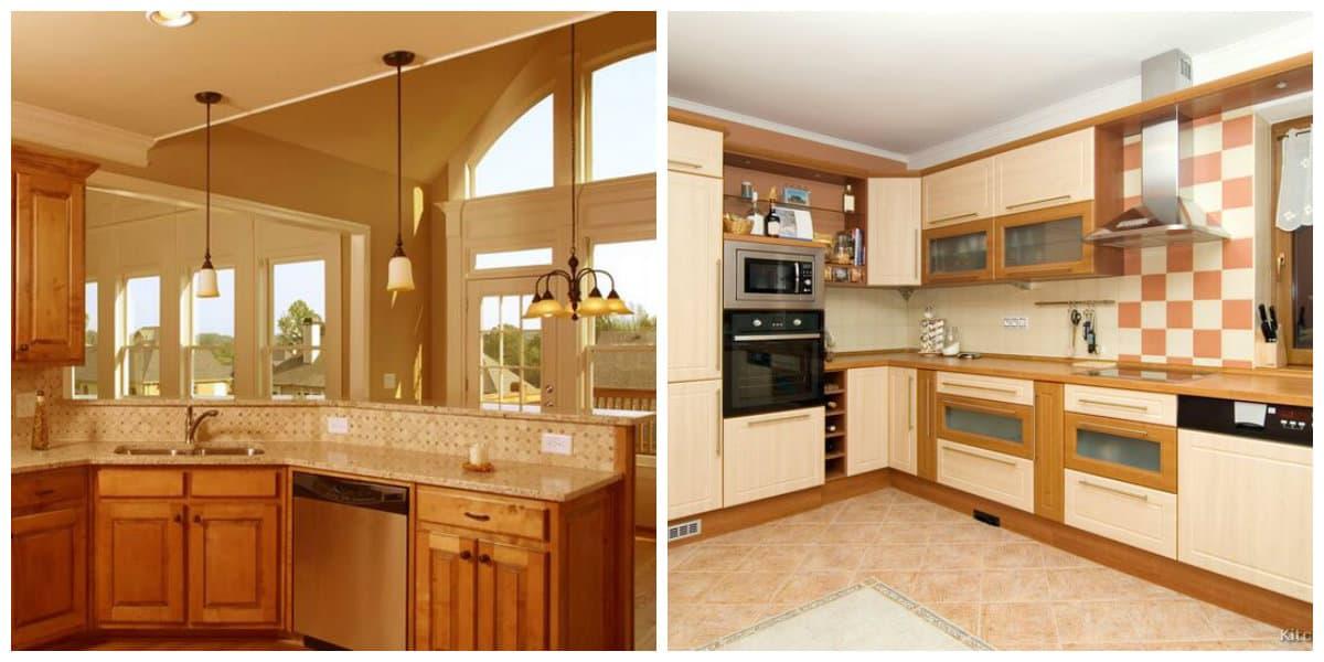 Moderno Muebles De Cocina En Esquina Fotos - Ideas de Decoración de ...