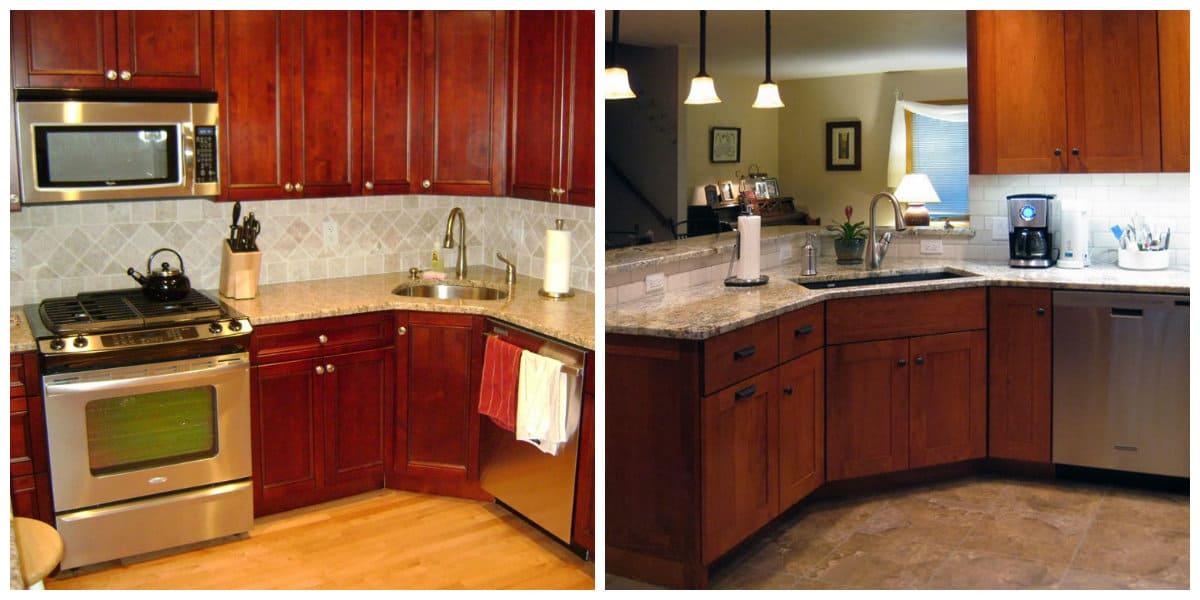 Cocinas de esquina: Ideas de diseño de interiores de cocinas