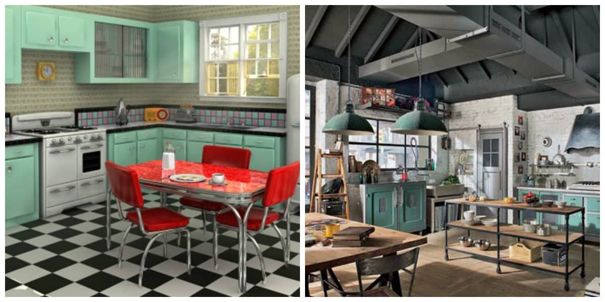 Cocinas modernas 2018- restauracion de muebles viejos