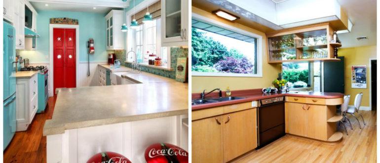 Cocinas modernas 2018- no usar demasiados muebles de madera