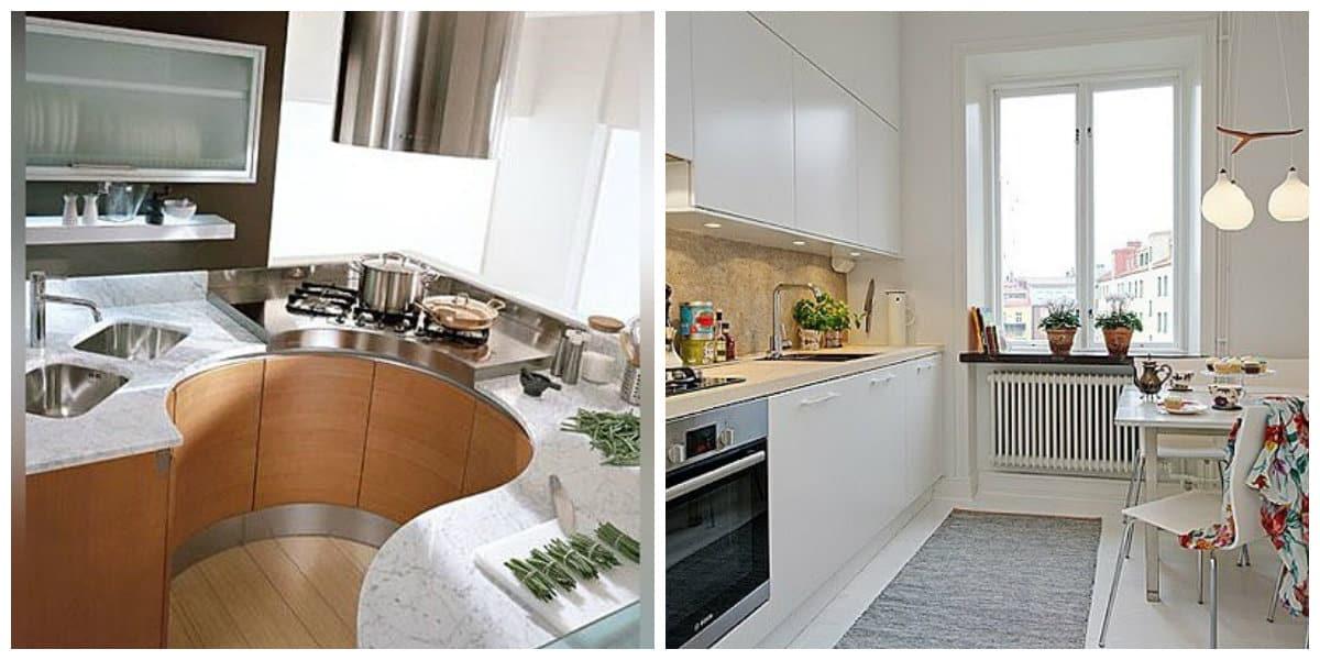 Cocinas peque as 2018 interior y dise o de cocina peque a for Disenos para cocinas pequenas