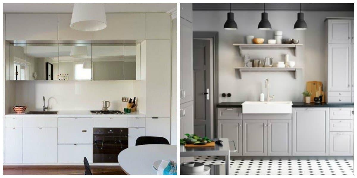 Cocinas pequeñas 2020- ahorrar el alfeizar de la ventana