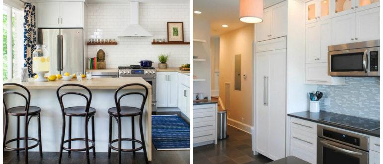 Cocinas pequeñas- colocacion de muebles importantes