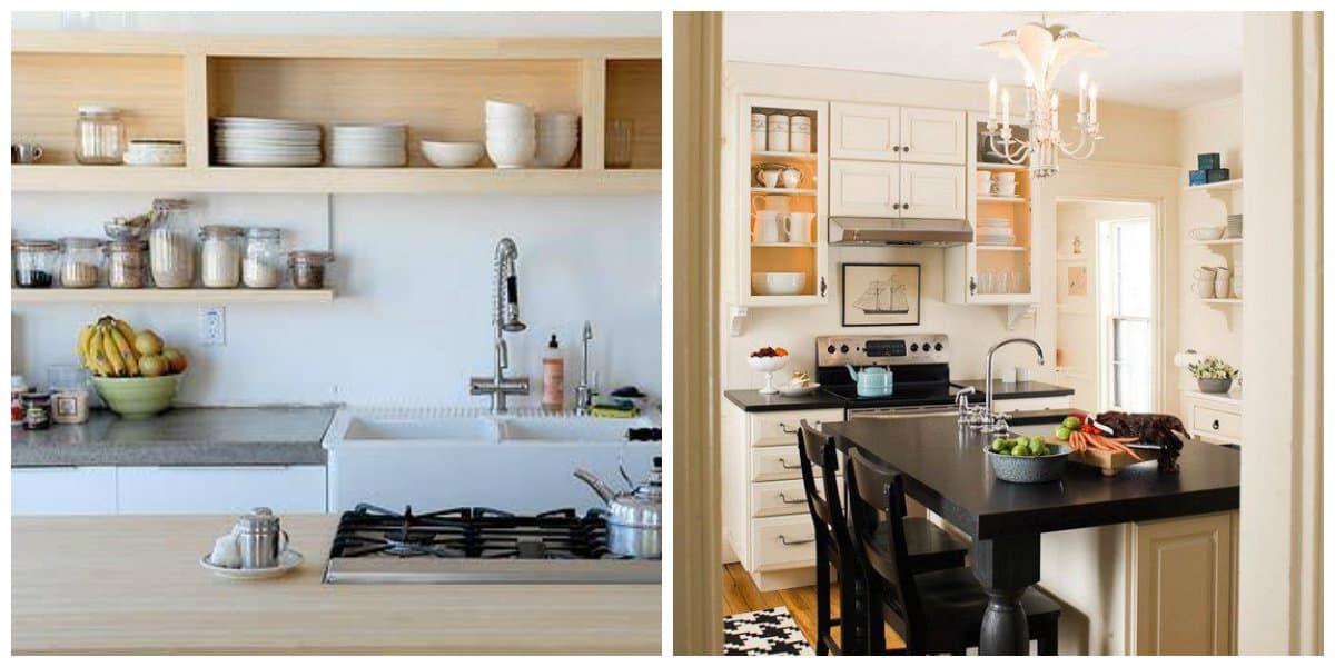Cocinas peque as dise o e ideas de decoraci n de cocina for Estantes para cocina pequena