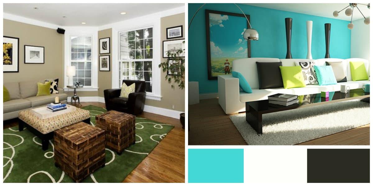 Colores de interiores 2018- azul en combinacion con otros colores