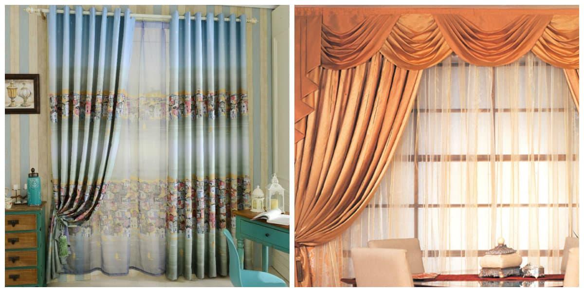Cortinas 2018 dise o de cortinas de moda para casa 2018 for Colores actuales para interiores