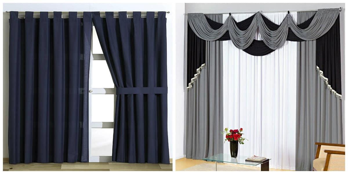 cortinas modernas 2018 cortinas actuales para sala de estar On cortinas de visillo modernas