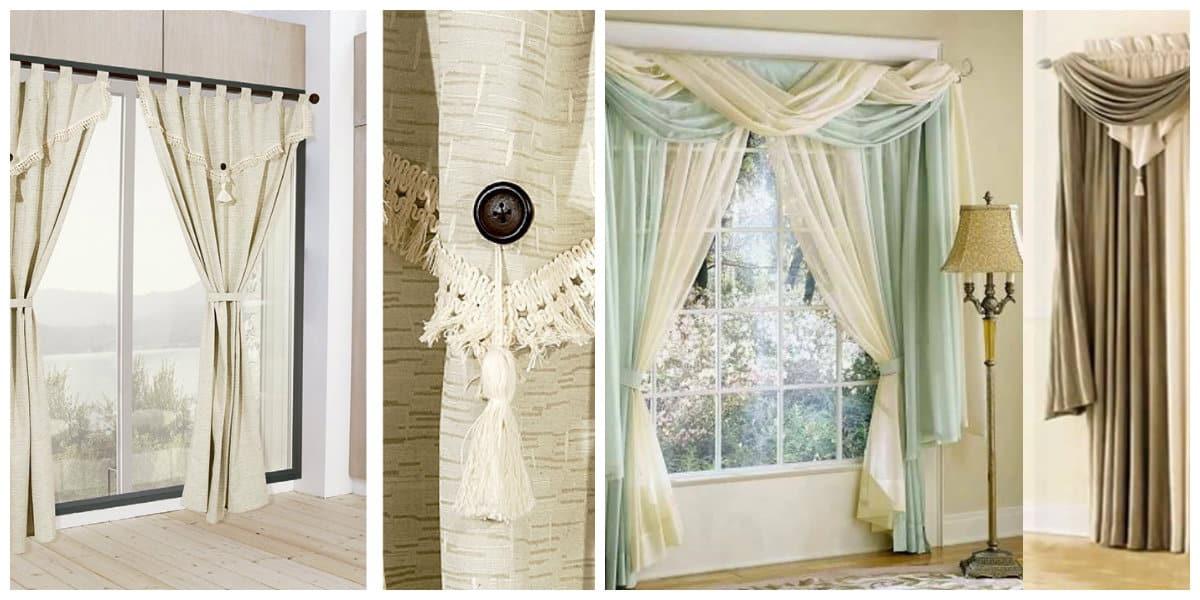 Cortinas modernas 2018 cortinas actuales para sala de estar - Decoracion de interiores cortinas ...