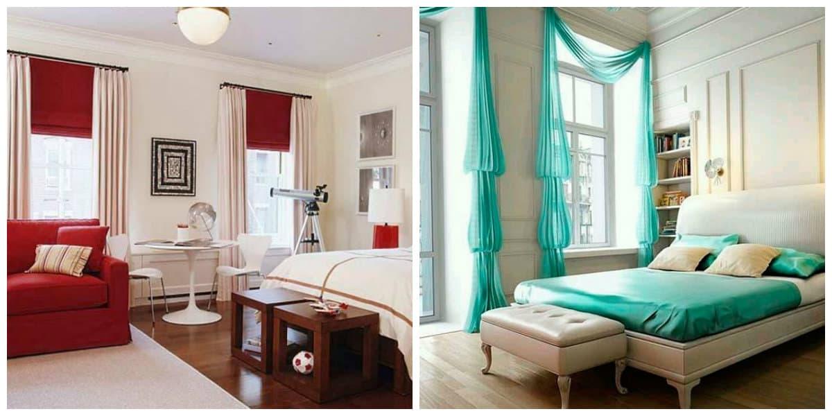 Cortinas para habitaci n dise o contempor neo de cortinas - Cortinas habitacion ...