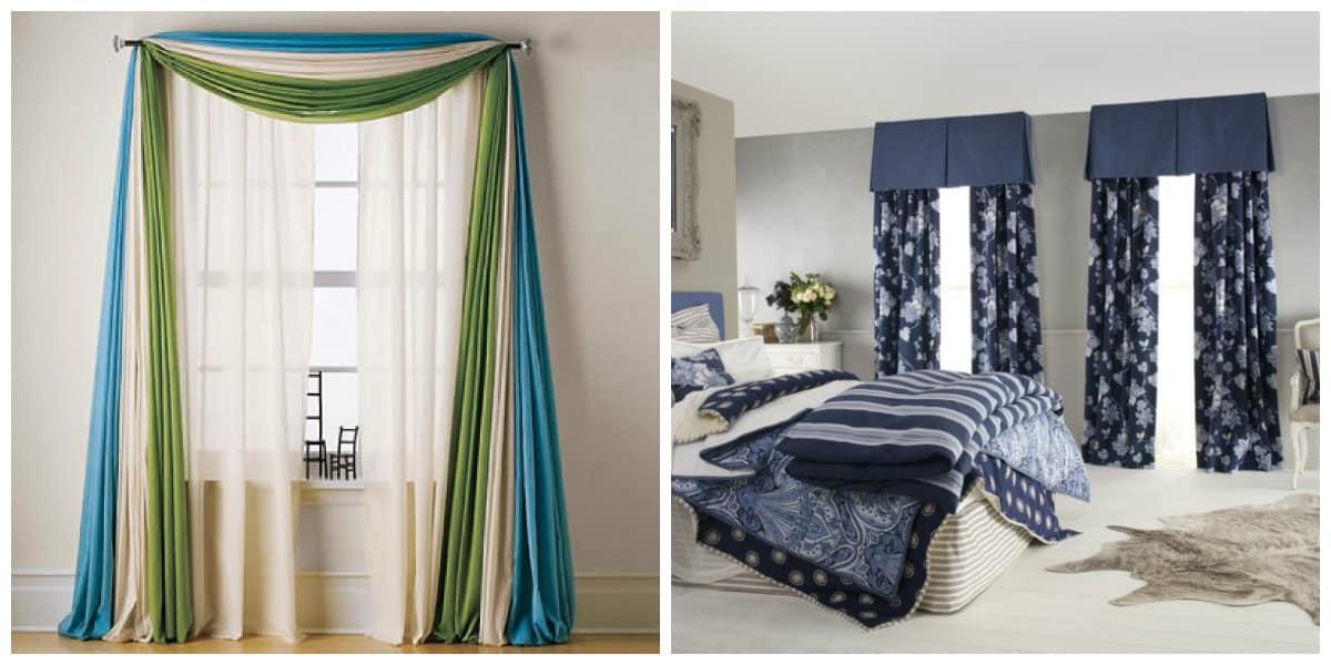 Cortinas para habitaci n dise o contempor neo de cortinas - Cortinas de dormitorios ...
