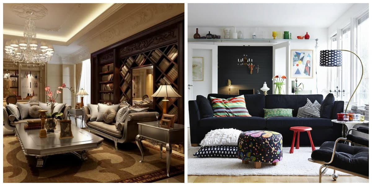 Decoración de interiores 2020- estilos de lujo y menos complejos