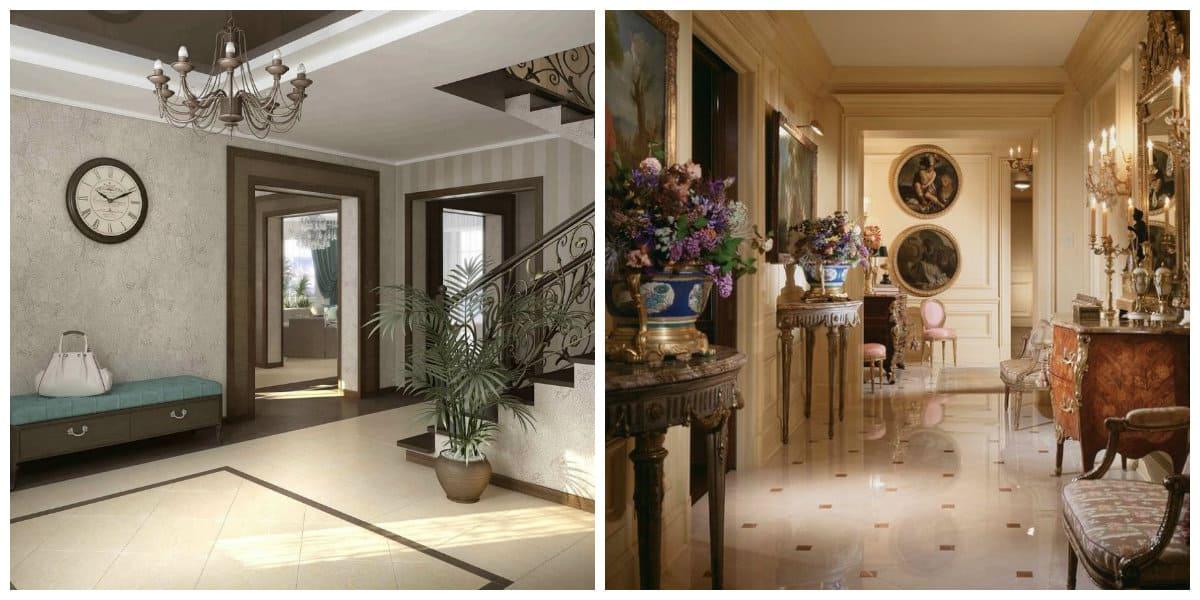 Decoraci n de pasillos estilos interiores de pasillos for Interiores clasicos