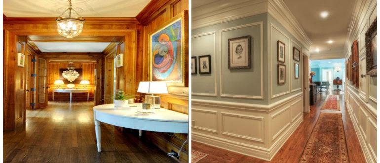 Decoración de pasillos- tonos tranquilos y reales claros