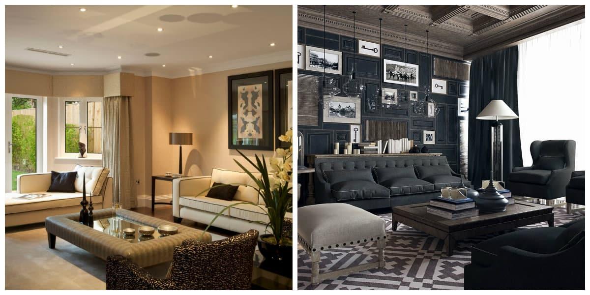 Decoración de sala de estar- para personas creativas y romanticas
