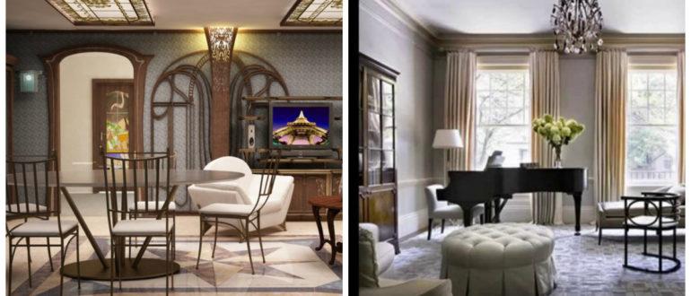 Decoración de sala de estar- diferentes accesorios para el uso