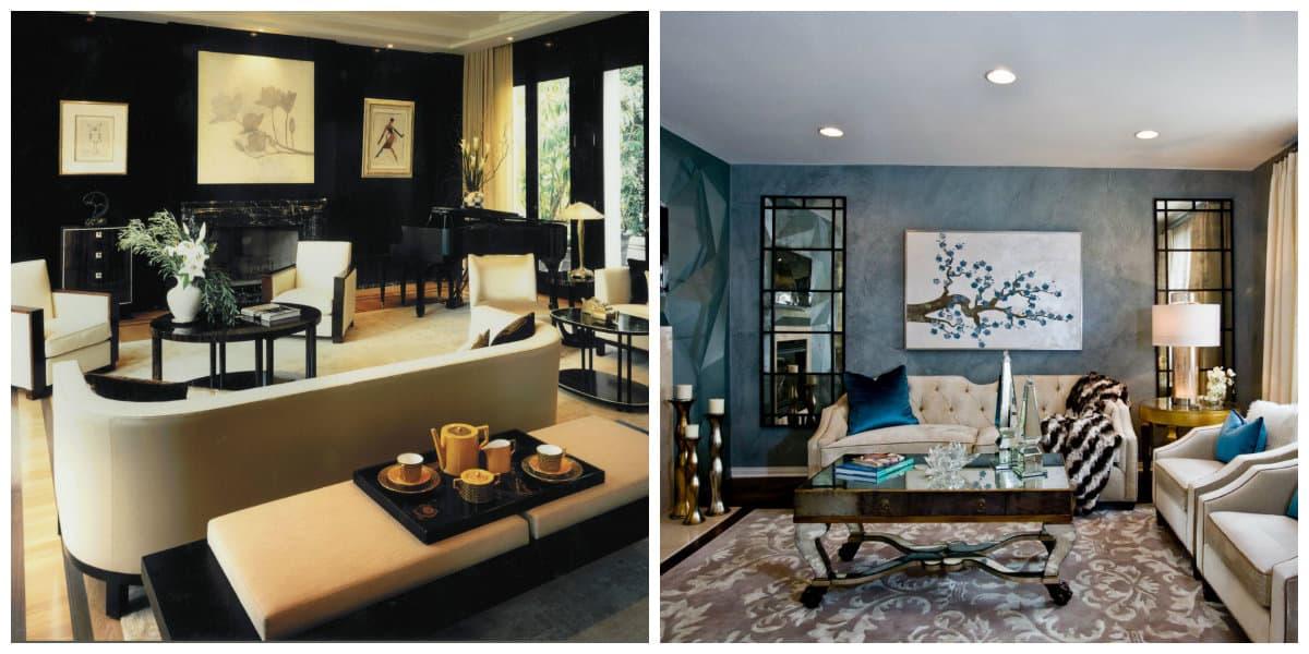 Decoración de sala de estar- tecnologia moderna en uso