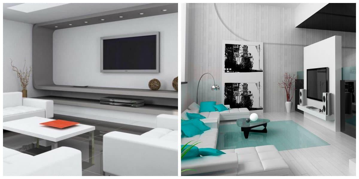Decoración de salas modernas- tendencias de moda
