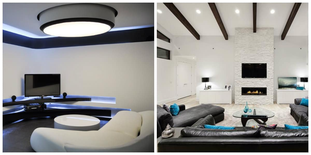 Decoración de salas modernas- cierto conocimiento de caracteristicas