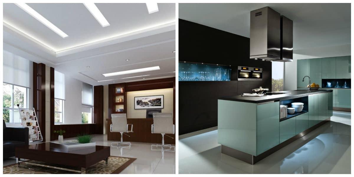 Decoración de salas modernas- con alta tecnologia