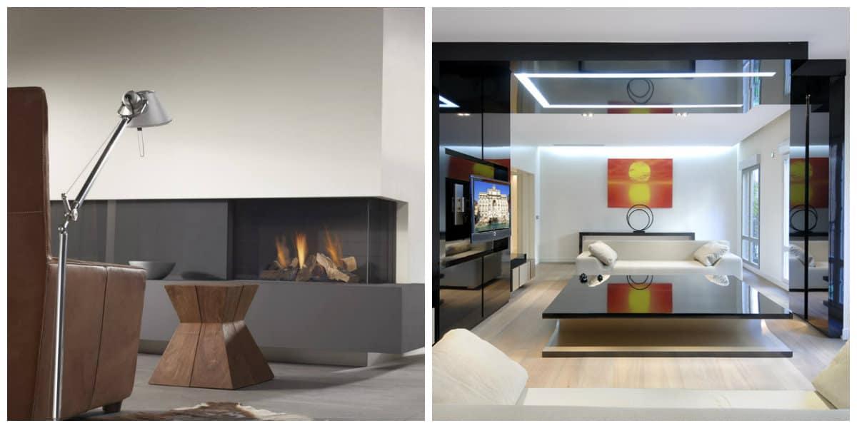 Decoración de salas modernas- con ultima tecnologia acompanante
