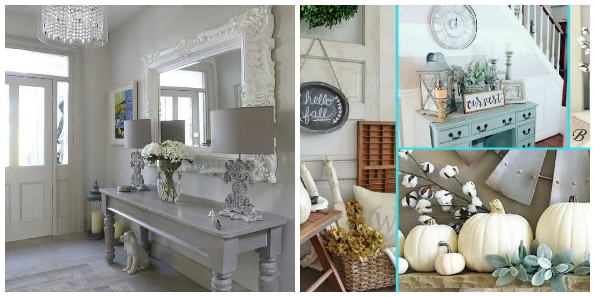 Diseño de interiores 2018- colores de moda de pastel y blanco