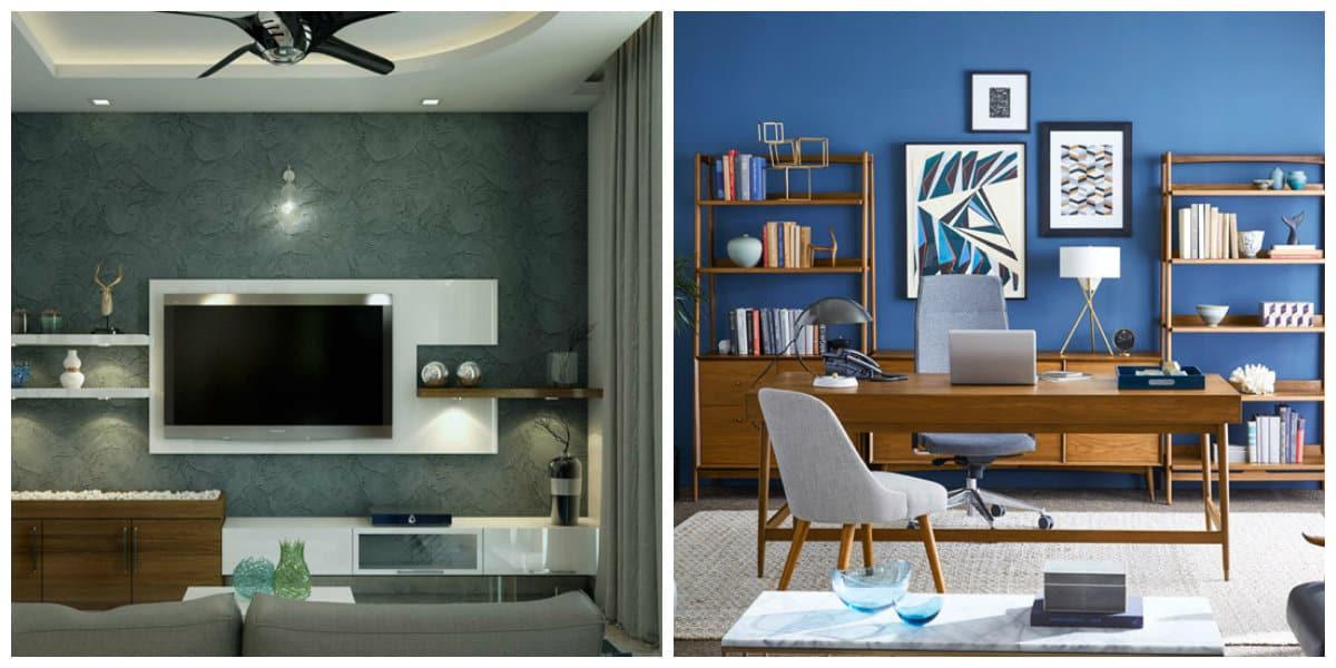 Diseño interiores 2020- lgar para los libros e iluminacion de moda