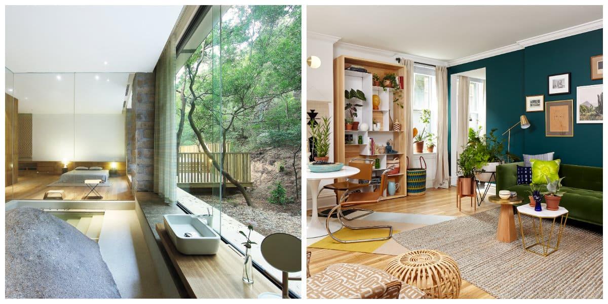 Diseño interiores 2020- en harmonia con la naturaleza
