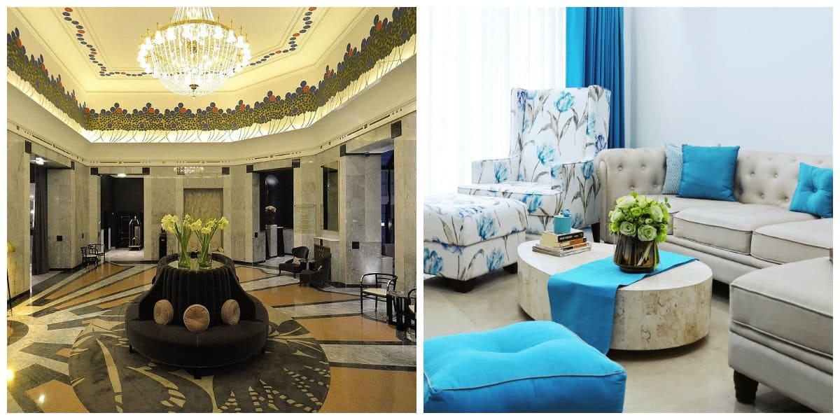 Diseño interiores 2020- lujo y simplicidad en los estilos de moda