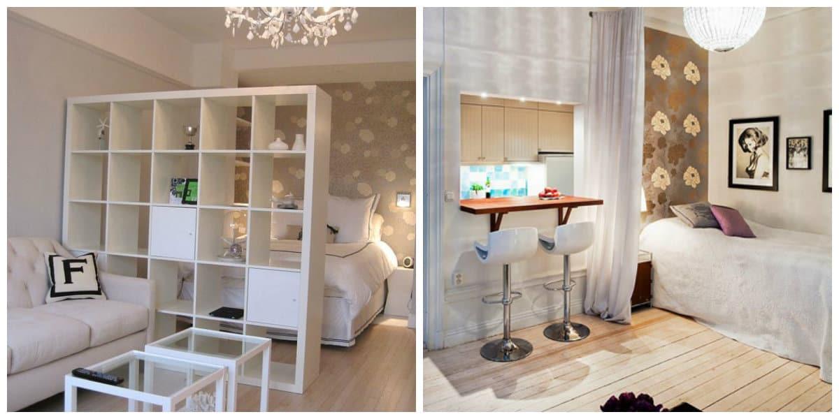 Diseños de apartamentos- ahorrar el tiempo para caber todo
