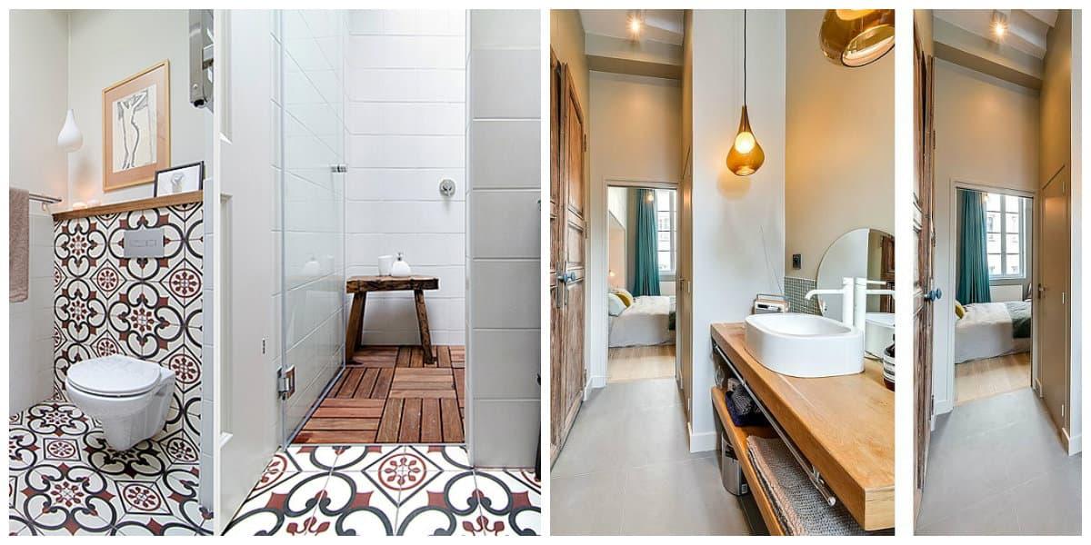 Diseños de apartamentos- banos en tu casa pequena para ahorrar espacio